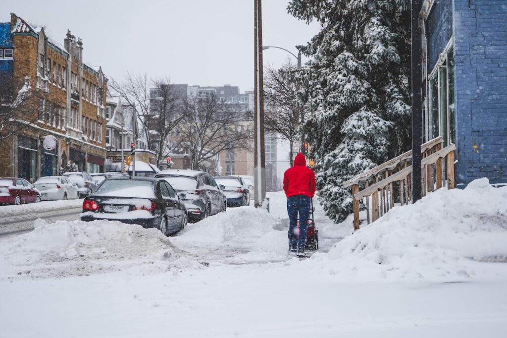 3 Tips for Snow Blowing